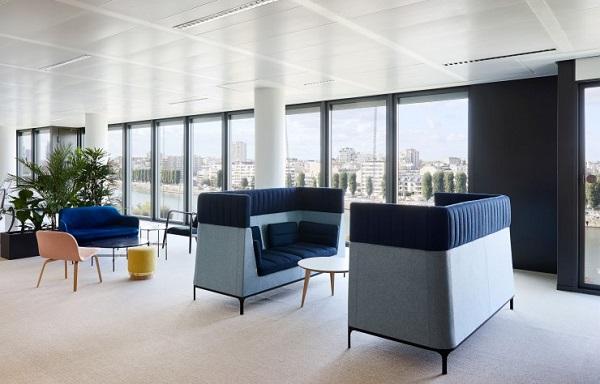 uffici l'Oréal Luxe, interior design by Sarah Lavoine