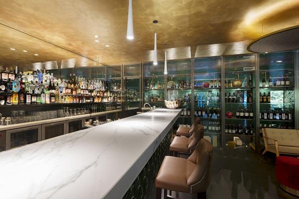 ristorante Alessandro Borghese - Il Lusso Della Semplicità, rivestimenti Neolith