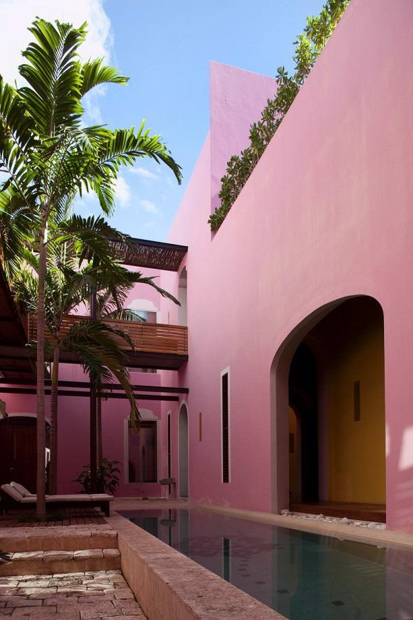 Rosas&Xocolate boutique hotel, Merida, Yucatan, Messico