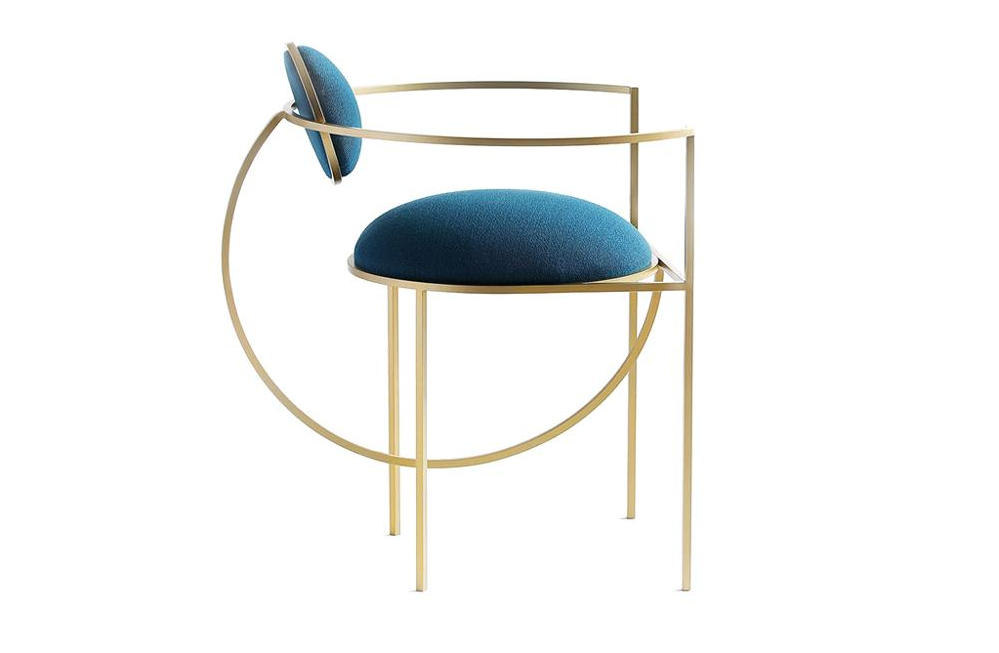 Lunar Chair, design Bohinc Studio