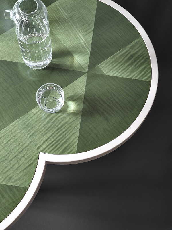 tavolino CARYLLON, design Cristina Celestino per Gebruder Thonet Vienna