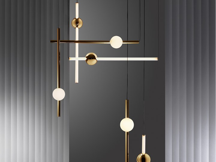 lampade Orion, design Lee Broom