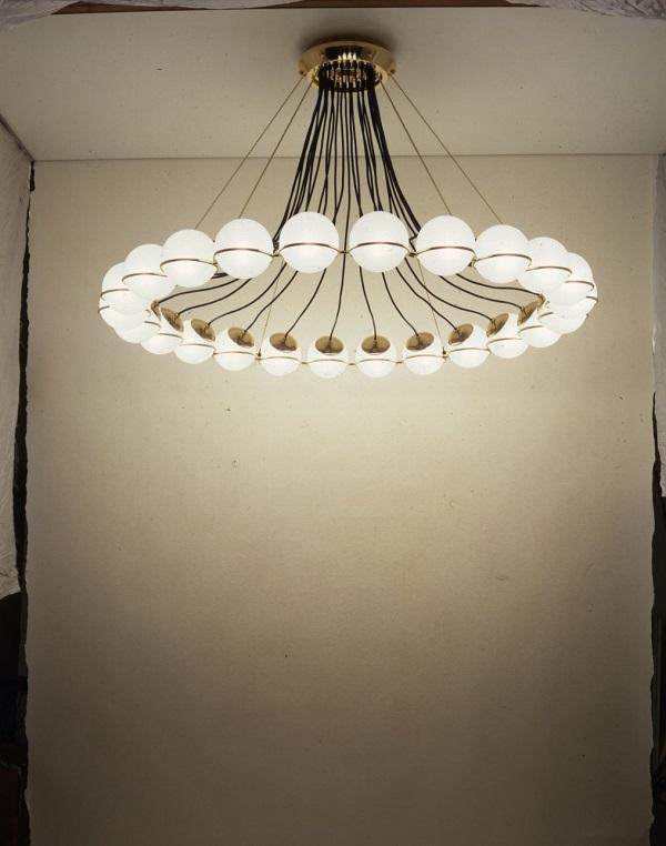 Le Sfere, design Gino Sarfatti