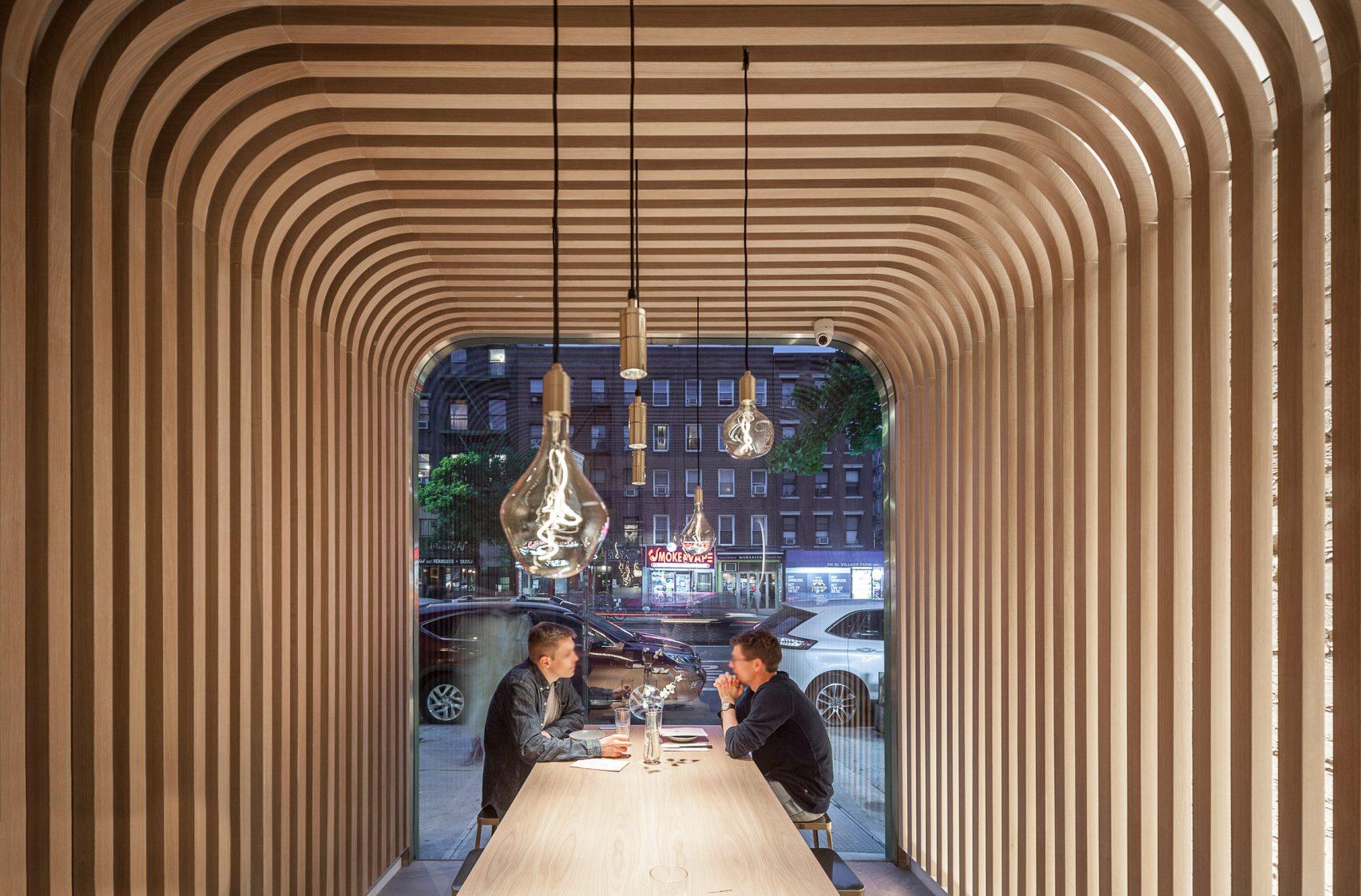 trend archi: Hunan Slurp, ristorante cinese, Manhattan