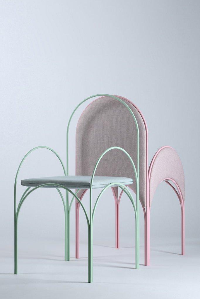 trend archi: sedie Hawa Beirut, design by Yasmine Richard