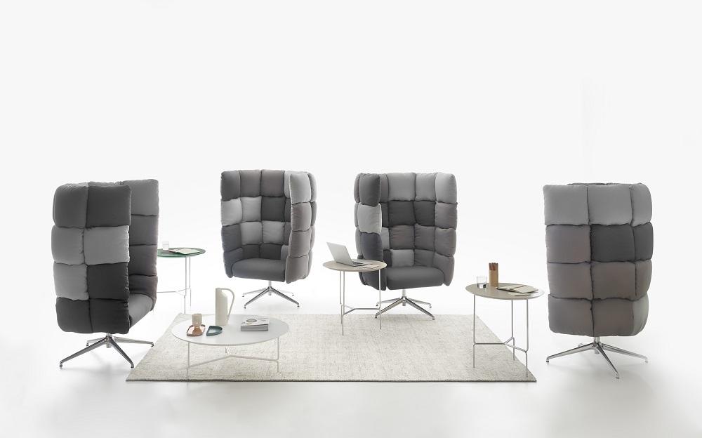arredi per ufficio di design: collezione Undecided, Manerba