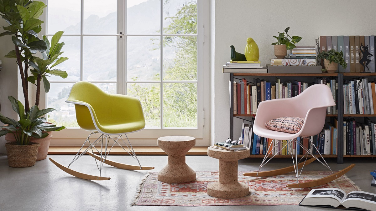 sedie a dondolo di design