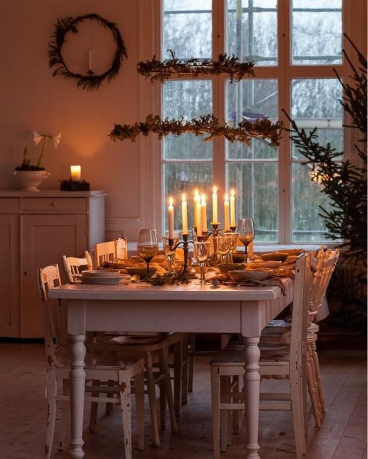 casa scandinava Natale